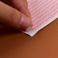 Etiqueta selo de segurança cor vermelha retângulo forma frágil etiqueta tamanho de garantia anula se removido 10mm * 5mm