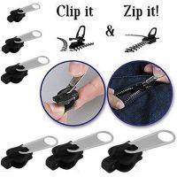 FECHO Zipper Fix Zipper Kit de Reparação Substituição Zip Instantânea Universal Slider Dentes Zíperes Para Costurar