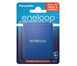 Caixa de armazenamento para pilhas AA/R6 e AAA/R3 - Panasonic Eneloop Blue