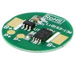 Placa PCB de protecção p/ baterias Li-Ion Ø18.5mm 2.5A 3.6VDC