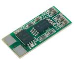 Placa PCB de protecção p/ baterias Li-Ion 19.1x8x2mm; 3A; 7.4VDC