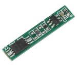 Placa PCB de protecção p/ baterias Li-Ion 3.6VDC 2.5A - 22.5x4.4x2mm