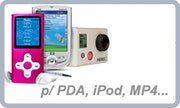 Baterias p/ PDA / iPod / MP4 / ...