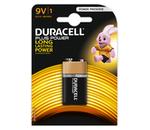 Pilha alcalina 9V 6LR61 - Duracell Plus Power MN1604 [1 unid.]