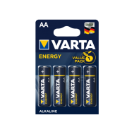 Pilhas alcalinas 1,5V LR6 / AA - Varta   [4 unid.]
