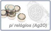 Pilhas para relógios (Ag2O)
