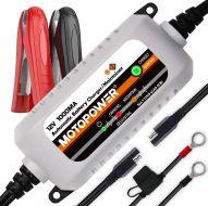 Carregador de bateria automático MOTOPOWER MP00205B 12V 1000mA