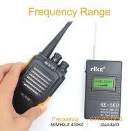 Medidor de sinal everificador de rádio 2.4 da frequência do contador defrequência de RK-560 ghz50mhz