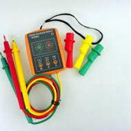 TestadorRotação e Indicador Ordem fases  SM852B    SM-852B 3 Fase 60V ~ 600V AC400Hz
