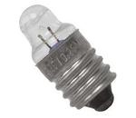 Lâmpada miniatura E10 c/ lente - 1.1V 0.3A