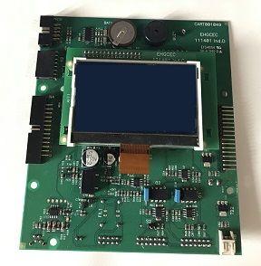 PLACA ELECTRONICA PCB CART001049  EHGCEC 111401