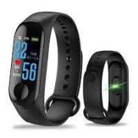 M3 relógio inteligente pulseira esportes relógio ip67 à prova dip67 água frequência cardíaca passo pressão contagem do sono lembrete telefone inteligente pulseiras