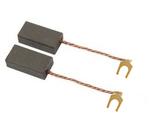 Escova universal 6.4x12.5x19mm com terminal de forquilha