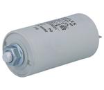 Condensador para motor 8.0uF 450V  c/ terminais 6.3mm e parafuso M8