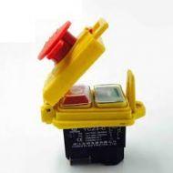 Interruptor eletromagnético YXZ3-C 250V AC 12A botão de proteção, interruptor de ignição solenóide