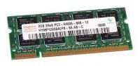 MEMORIA RAM  Hynix HYMP125S64CP8-S6 AB-C (2GB DDR2 PC2-6400S 800MHz SODIMM 200pin) RAM Module