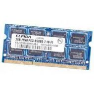 MEMORIA RAM  EBJ21UE8BBS0-AE-F  ELPIDA  2GB  2RX8 PC3-8500S-7-10-F1