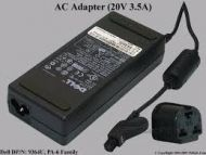 CARREGADOR TRANSFORMADOR AC ADAPTER DELL ADP-70EB ADP70EB 20V 3.5A