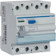 Interuptor diferencial  HAGER  CDC463P   4P  63A  30mA  tipo AC 4M