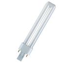 Lâmpada fluorescente tipo PL-S G23 2 pinos 7W