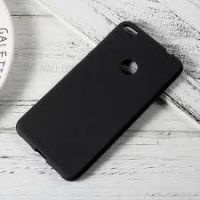 CAPA  Matte Anti-impressão digital Soft TPU Case para Huawei P8 Lite  2017  Honor 8 Lite - Preto